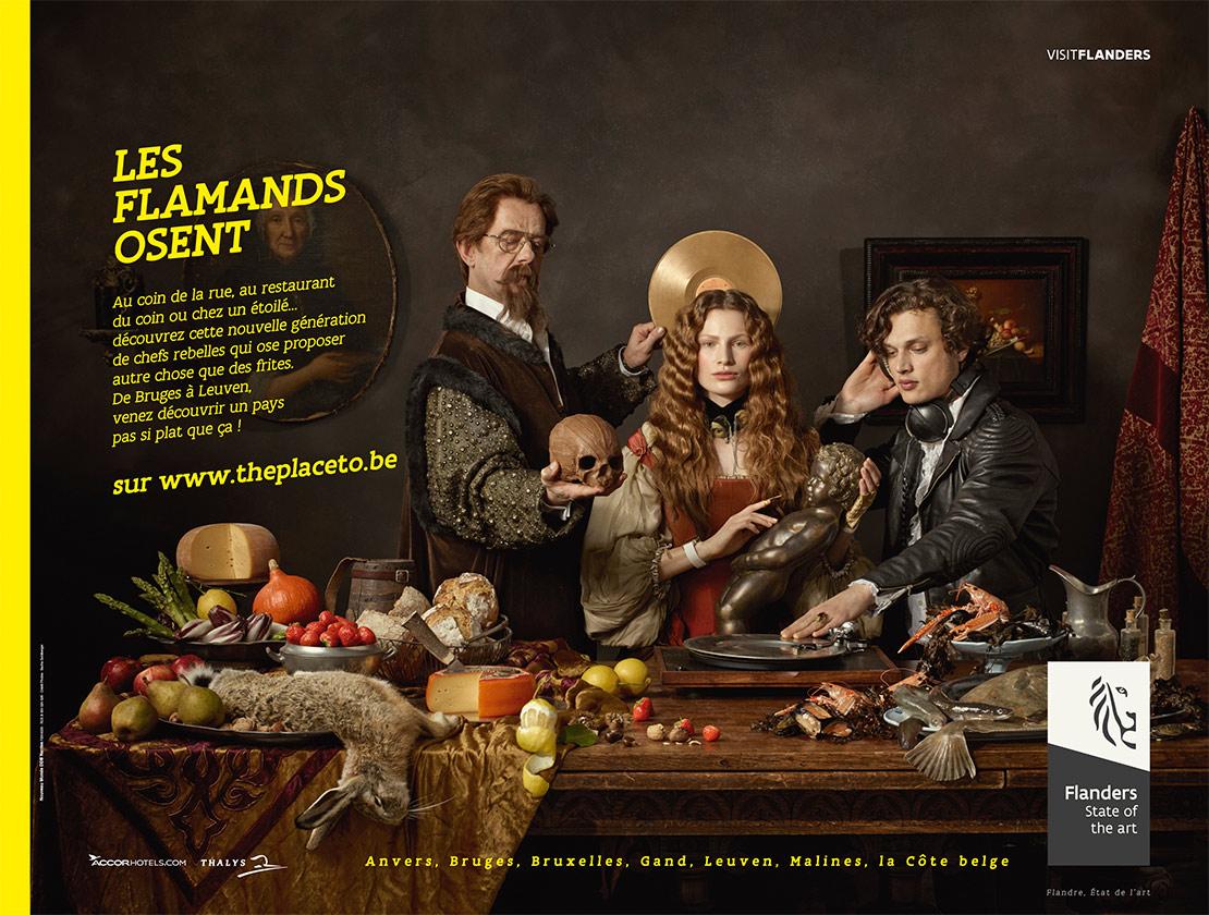 Flandre publicité notchup