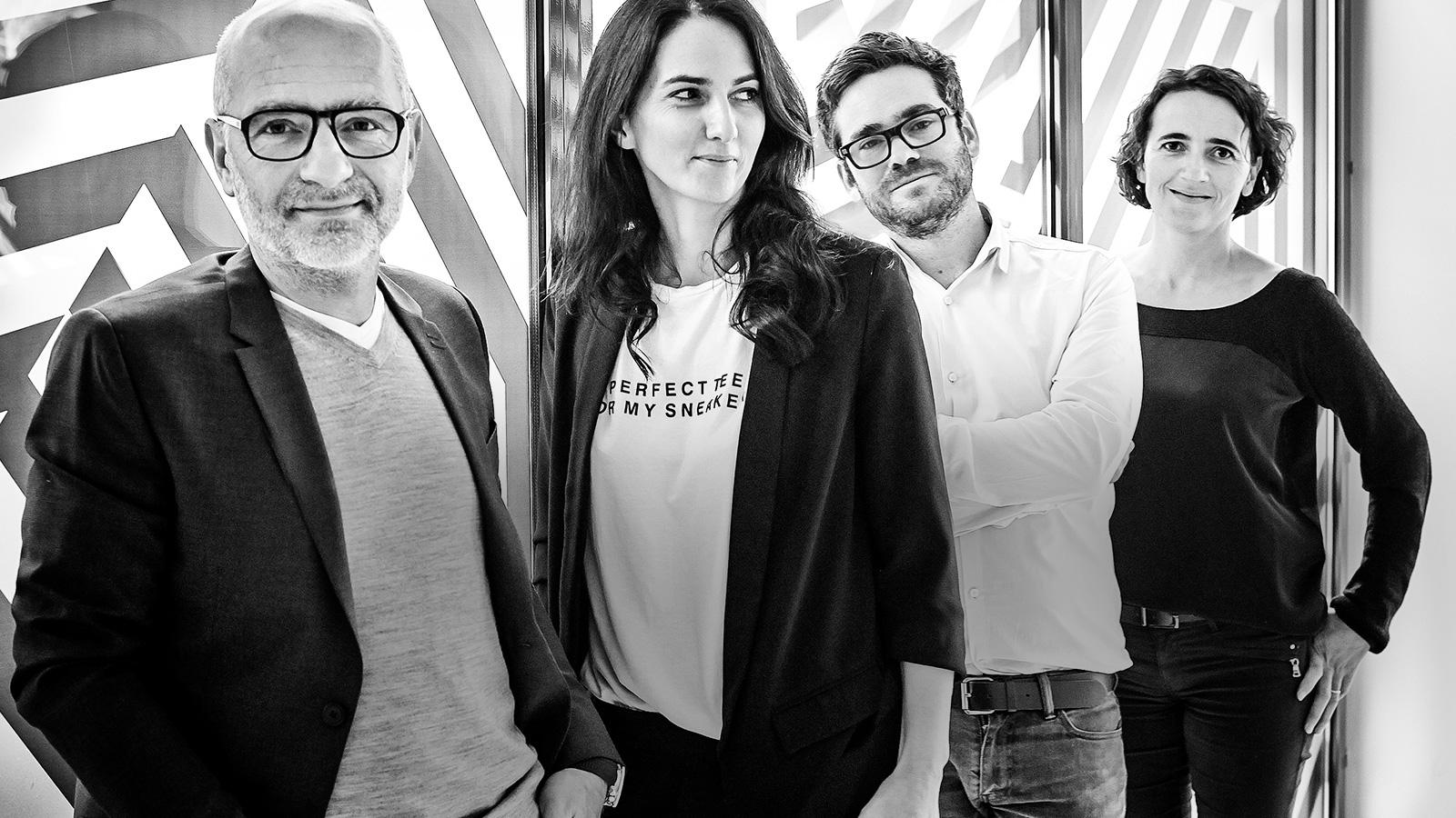Notchup agence publicité dirigeants managers Philippe Robin Céline Marcillac jean-François Pape Édith Chartier