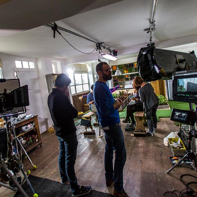 Créaline publicité making of TV Notchup