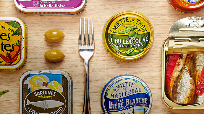 La belle-iloise design packaging Notchup