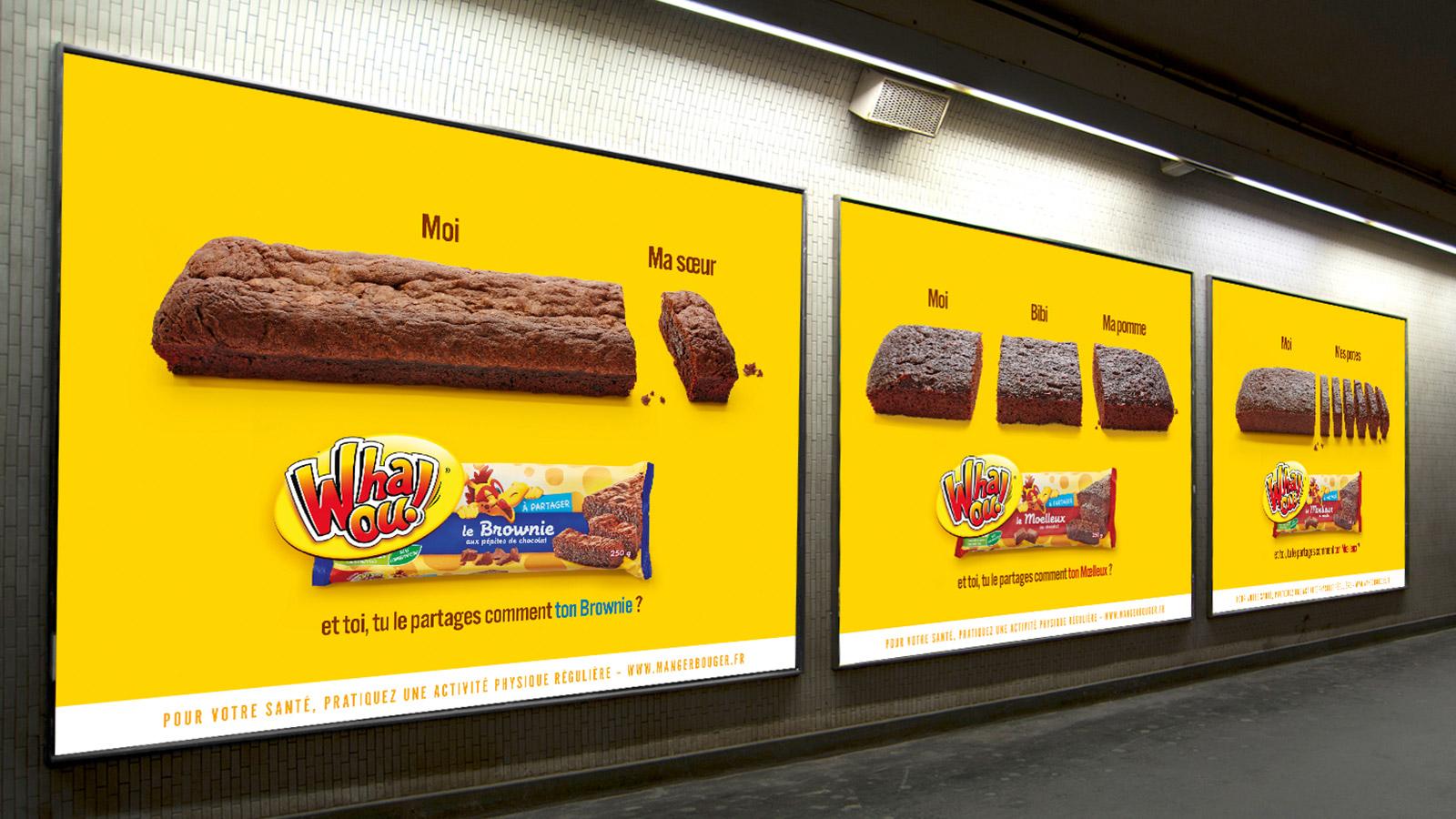 Publicité Affichage Whaou Notchup
