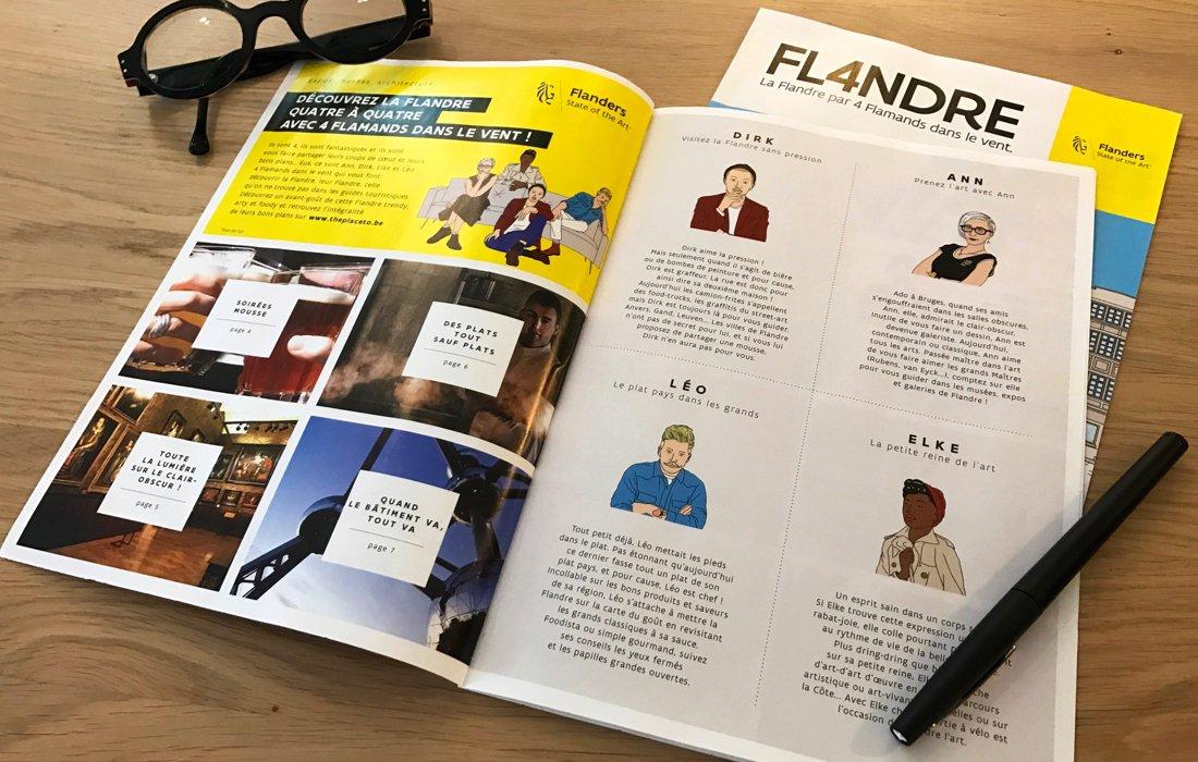 Campagne 4 Flamands Flandre presse Notchup