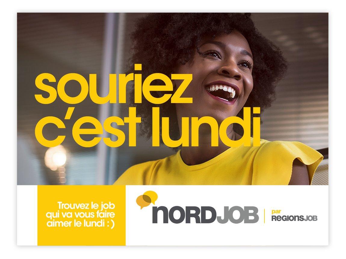 RegionsJob affichage Souriez c'est lundi Notchup