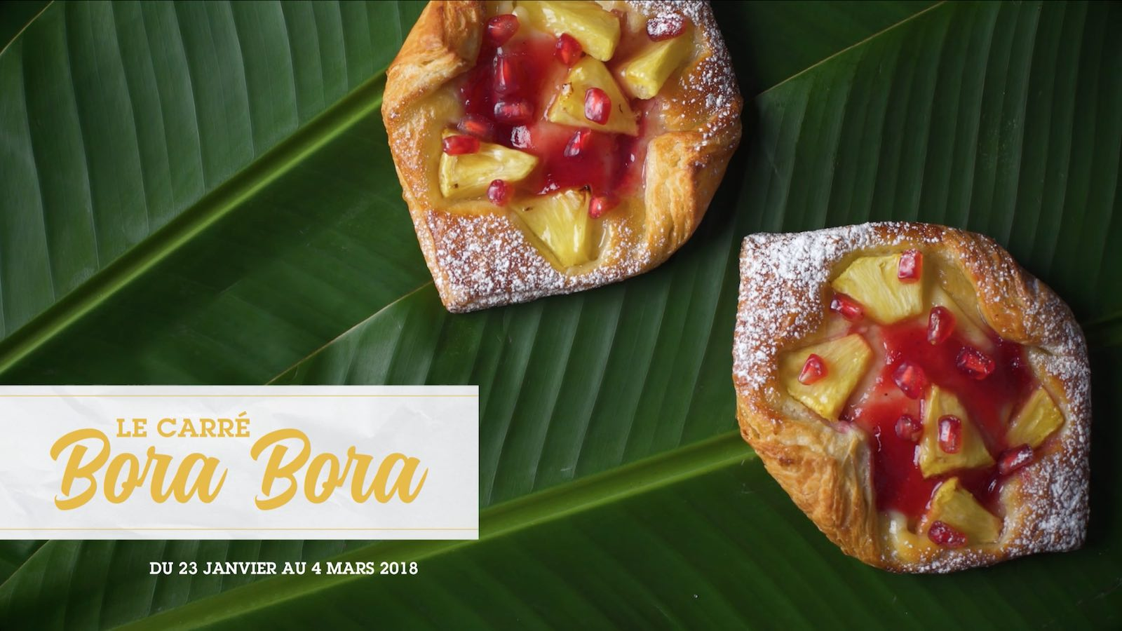 Brioche Dorée Notchup vidéo recette Carré Bora Bora ananas