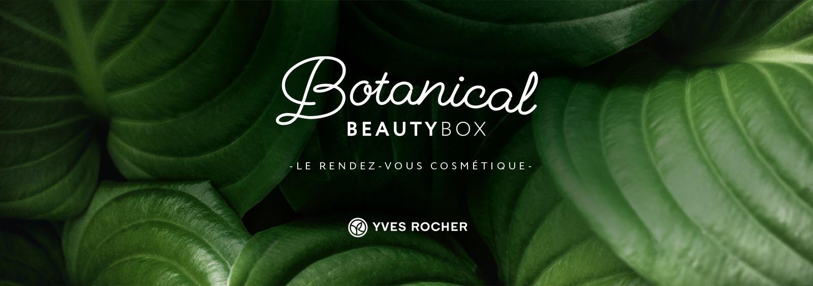 Notchup Yves Rocher création Botanical Beauty Box