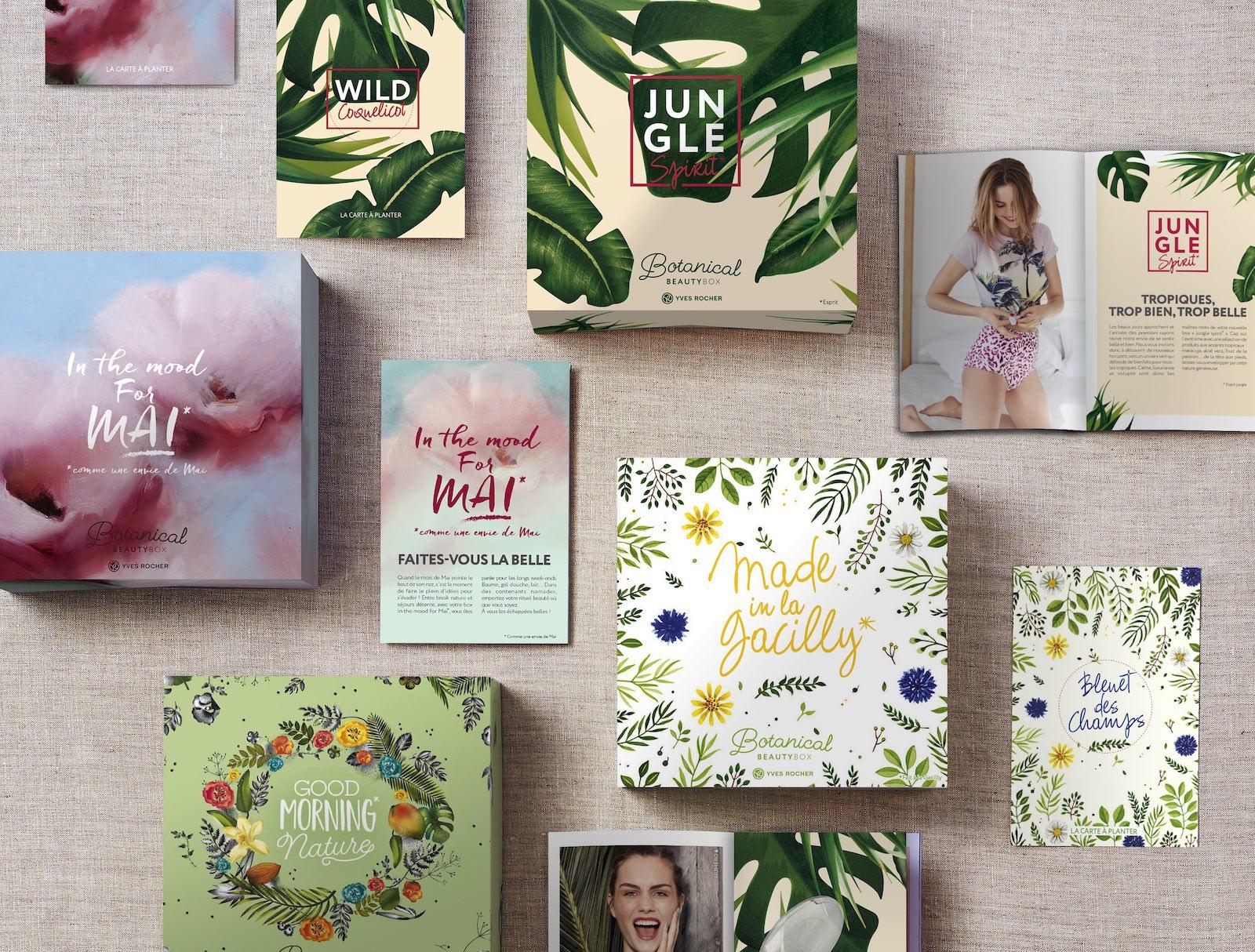 Yves Rocher Notchup Botanical Beauty Box printemps 2018