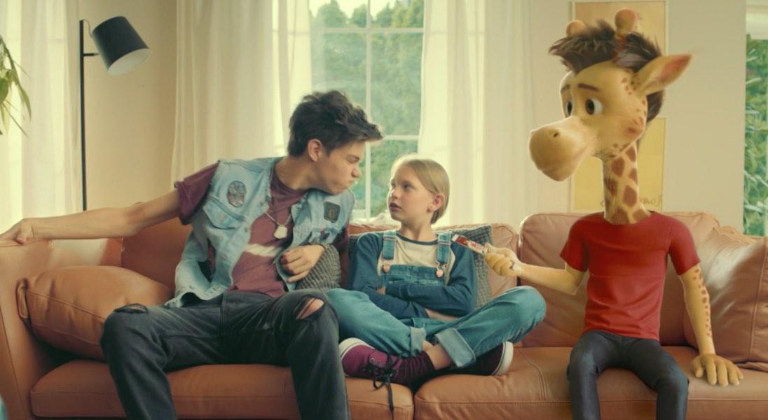Whaou! goûter crêpes Notchup spot TV Publicité girafon le grand frère