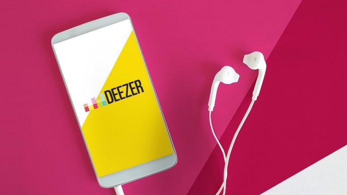 Notchup Deezer autopromo campagne publicité conversion digital spot audio tablette iPad streaming