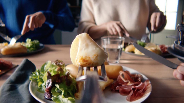 Notchup Priméale spot TV pommes de terre raclette entre amis cuisson rapide agence publicité