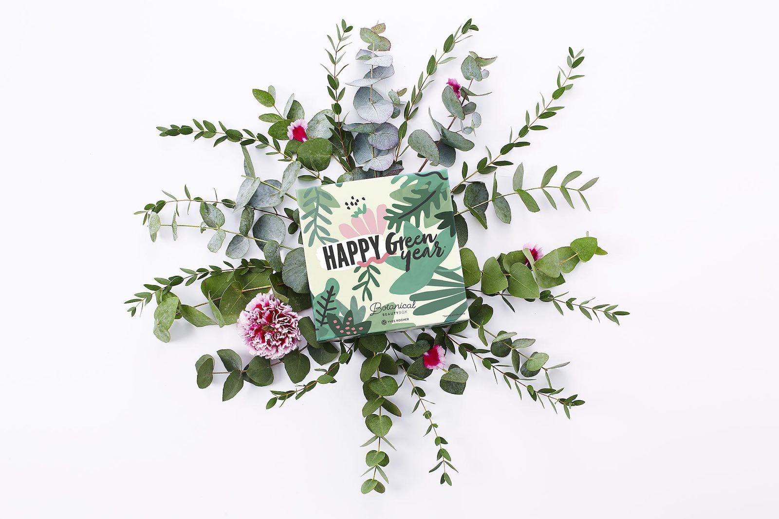 Yves Rocher Botanical Beauty Box Happy Green Year Janvier 2019