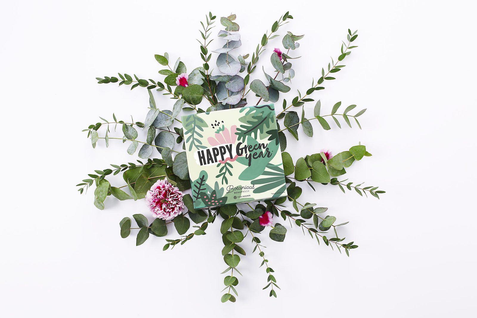 Yves Rocher Botanical Beauty Box Happy Green Year Janvier 2019