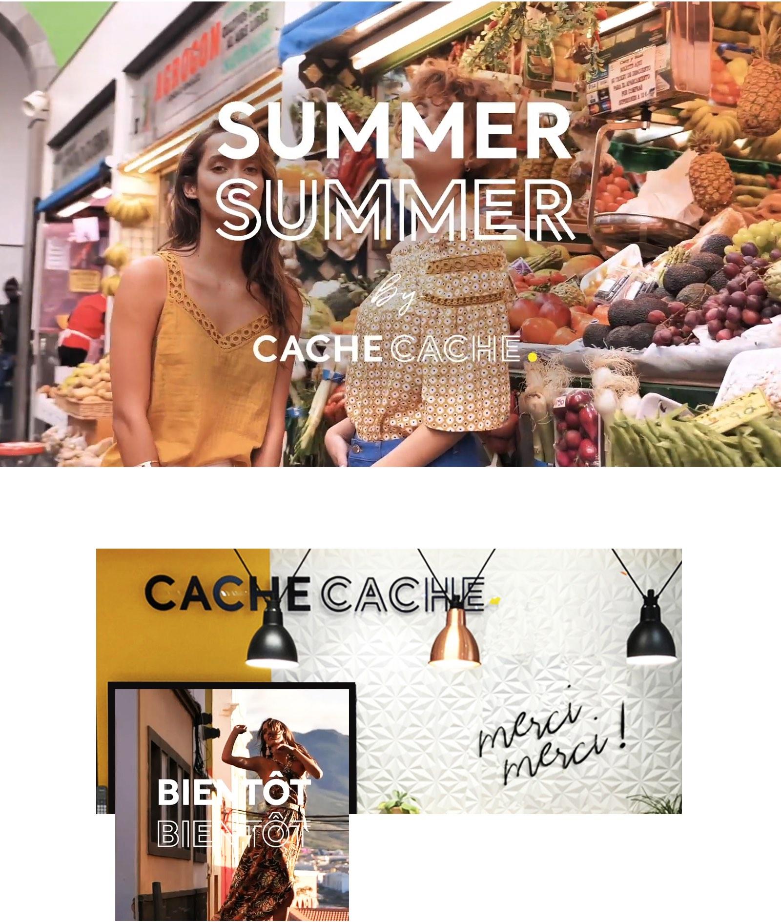 Notchup Cache Cache plateforme de marque territoire d'expression shopper smile mode
